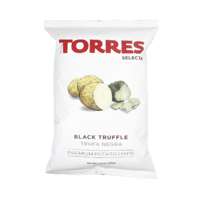 Black truffle Torres chips