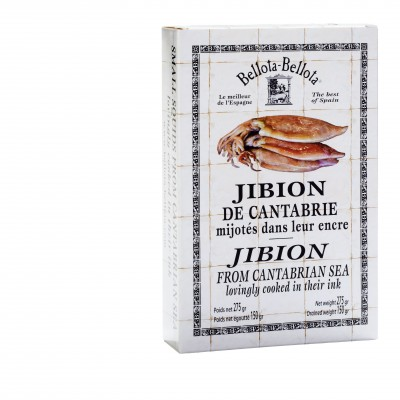 Jibion from the Cantabrian sea (squid)